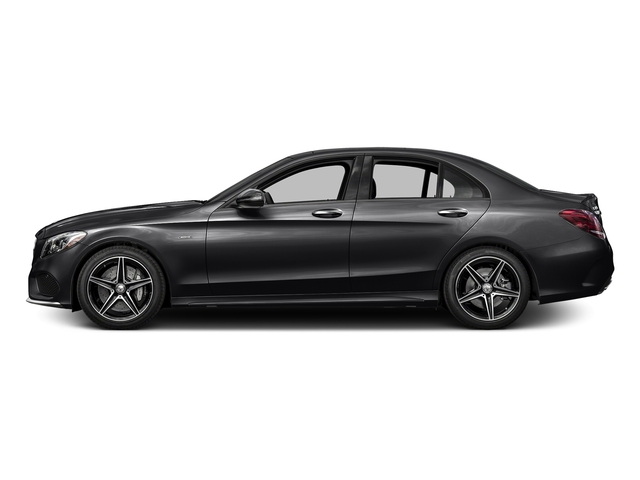 Black 2016 Mercedes-Benz C-Class Pictures C-Class Sedan 4D C450 Sport AMG AWD V6 Turbo photos side view