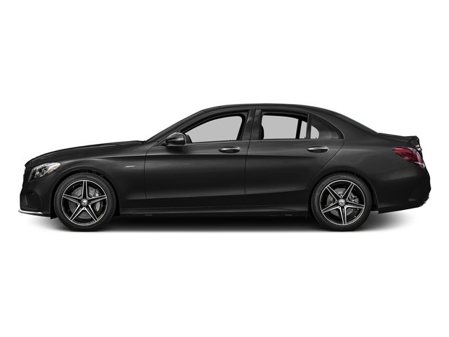 Obsidian Black Metallic 2016 Mercedes-Benz C-Class Pictures C-Class Sedan 4D C450 Sport AMG AWD V6 Turbo photos side view