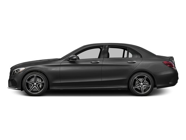 Steel Gray Metallic 2016 Mercedes-Benz C-Class Pictures C-Class Sedan 4D C450 Sport AMG AWD V6 Turbo photos side view