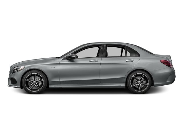 Iridium Silver Metallic 2016 Mercedes-Benz C-Class Pictures C-Class Sedan 4D C450 Sport AMG AWD V6 Turbo photos side view
