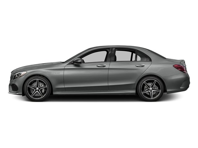Palladium Silver Metallic 2016 Mercedes-Benz C-Class Pictures C-Class Sedan 4D C450 Sport AMG AWD V6 Turbo photos side view
