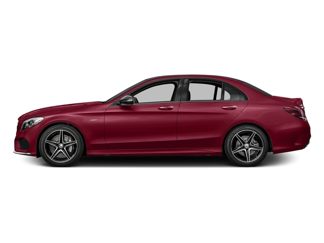designo Cardinal Red Metallic 2016 Mercedes-Benz C-Class Pictures C-Class Sedan 4D C450 Sport AMG AWD V6 Turbo photos side view