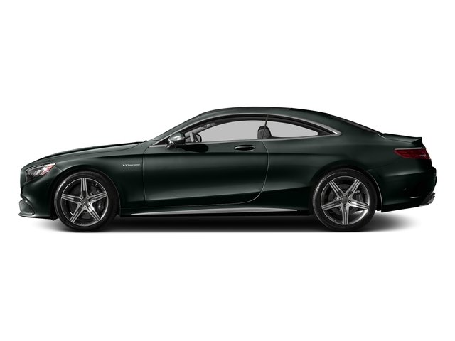 Emerald Green Metallic 2016 Mercedes-Benz S-Class Pictures S-Class Coupe 2D S63 AMG AWD V8 Turbo photos side view