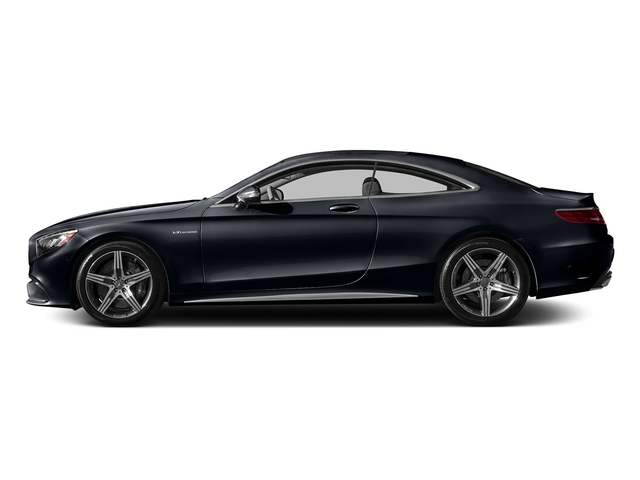 Anthracite Blue Metallic 2016 Mercedes-Benz S-Class Pictures S-Class Coupe 2D S63 AMG AWD V8 Turbo photos side view