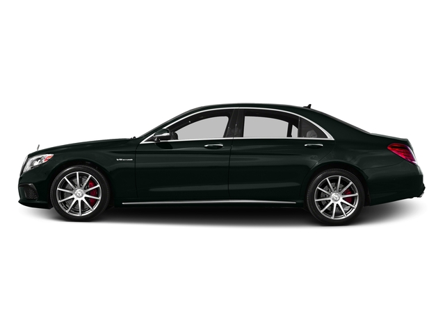 Emerald Green Metallic 2016 Mercedes-Benz S-Class Pictures S-Class Sedan 4D S63 AMG AWD V8 Turbo photos side view