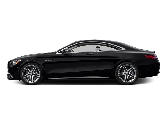 Black 2016 Mercedes-Benz S-Class Pictures S-Class 2 Door Coupe Rear Wheel Drive photos side view