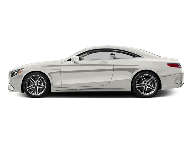 designo Magno Cashmere White (Matte Finish) 2016 Mercedes-Benz S-Class Pictures S-Class 2 Door Coupe Rear Wheel Drive photos side view