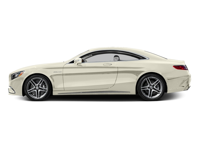 designo Diamond White 2016 Mercedes-Benz S-Class Pictures S-Class 2 Door Coupe Rear Wheel Drive photos side view