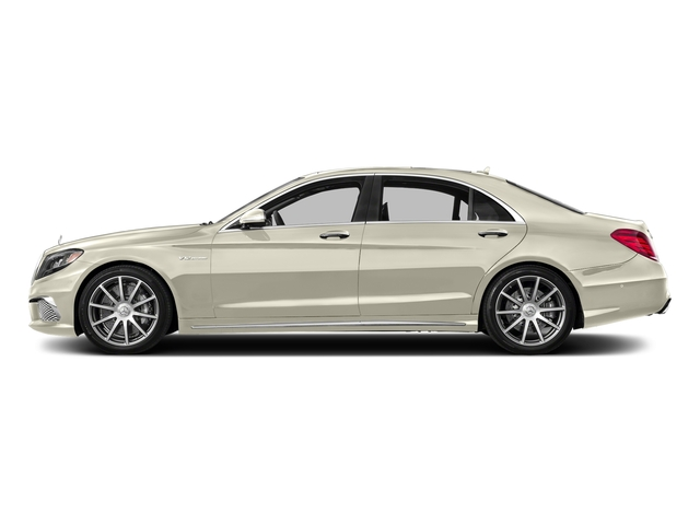 designo Diamond White 2016 Mercedes-Benz S-Class Pictures S-Class 4 Door Sedan Rear Wheel Drive photos side view