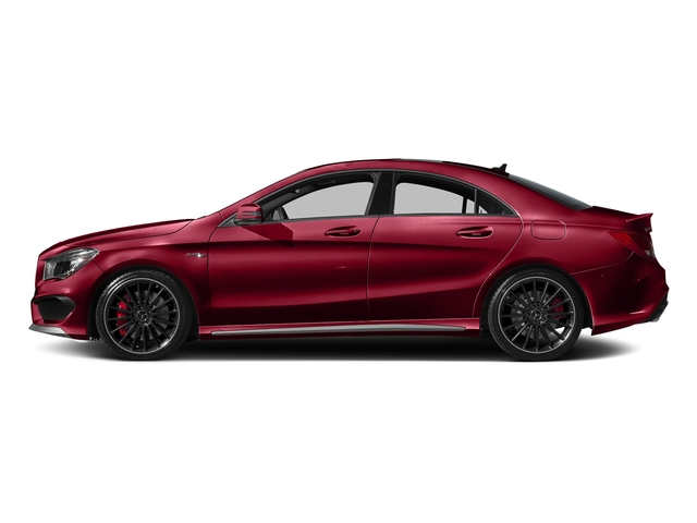 Jupiter Red 2016 Mercedes-Benz CLA Pictures CLA Sedan 4D CLA45 AMG AWD I4 Turbo photos side view