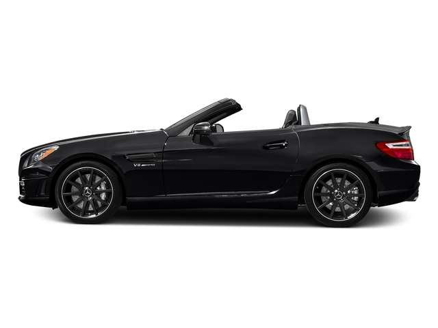 Black 2016 Mercedes-Benz SLK Pictures SLK Roadster 2D SLK55 AMG V8 photos side view