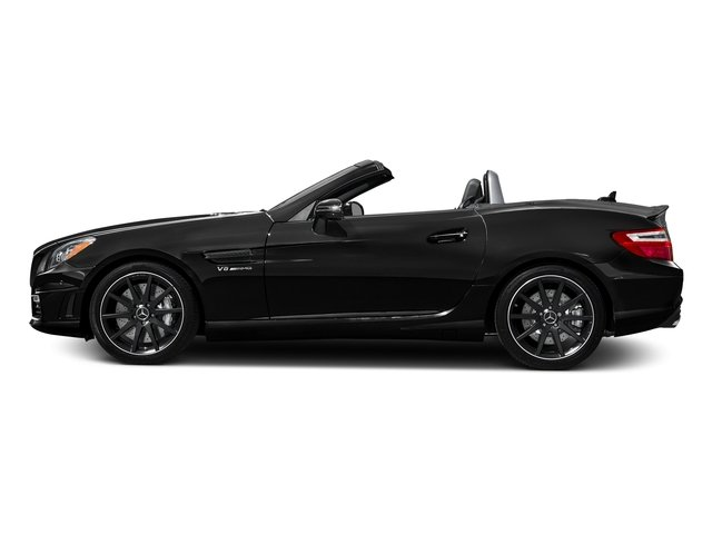 Obsidian Black Metallic 2016 Mercedes-Benz SLK Pictures SLK Roadster 2D SLK55 AMG V8 photos side view