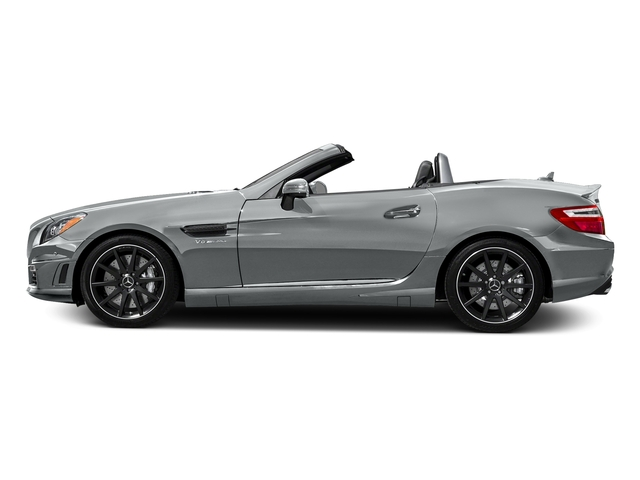 Iridium Silver Metallic 2016 Mercedes-Benz SLK Pictures SLK Roadster 2D SLK55 AMG V8 photos side view