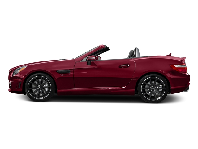 designo Cardinal Red Metallic 2016 Mercedes-Benz SLK Pictures SLK Roadster 2D SLK55 AMG V8 photos side view
