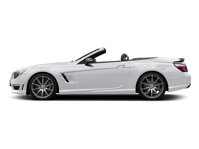 Polar White 2016 Mercedes-Benz SL Pictures SL Roadster 2D SL63 AMG V8 Turbo photos side view