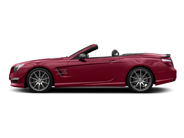 designo Cardinal Red Metallic 2016 Mercedes-Benz SL Pictures SL Roadster 2D SL63 AMG V8 Turbo photos side view