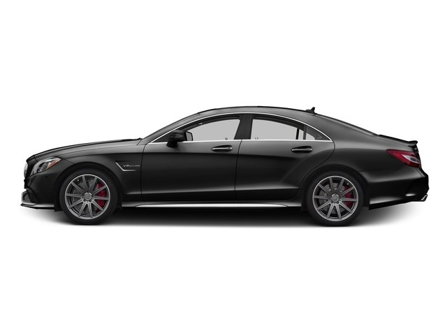 Obsidian Black Metallic 2016 Mercedes-Benz CLS Pictures CLS Sedan 4D CLS63 AMG S AWD V8 photos side view