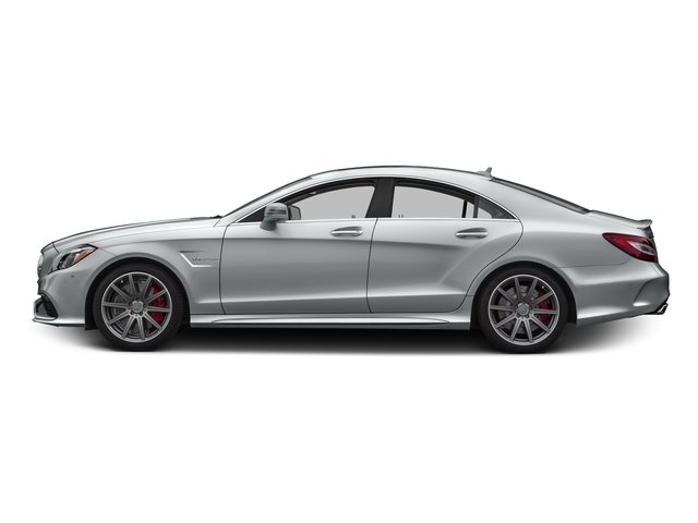 Iridium Silver Metallic 2016 Mercedes-Benz CLS Pictures CLS Sedan 4D CLS63 AMG S AWD V8 photos side view
