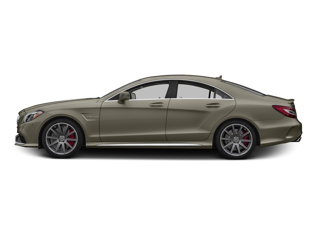 designo Magno Sintered Bronze (Matte) 2016 Mercedes-Benz CLS Pictures CLS Sedan 4D CLS63 AMG S AWD V8 photos side view