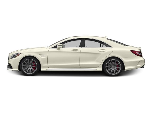 designo Diamond White Metallic 2016 Mercedes-Benz CLS Pictures CLS Sedan 4D CLS63 AMG S AWD V8 photos side view