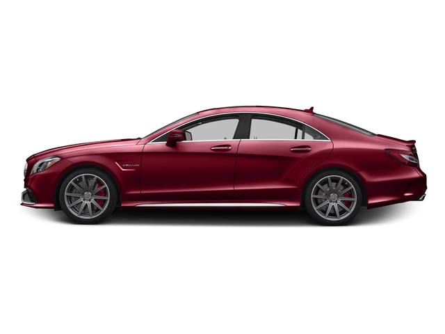 designo Cardinal Red Metallic 2016 Mercedes-Benz CLS Pictures CLS Sedan 4D CLS63 AMG S AWD V8 photos side view