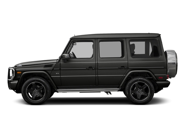 designo Magno Night Black 2016 Mercedes-Benz G-Class Pictures G-Class 4 Door Utility 4Matic photos side view