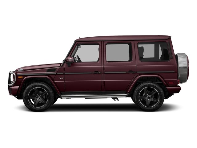 Almandine Black Metallic 2016 Mercedes-Benz G-Class Pictures G-Class 4 Door Utility 4Matic photos side view