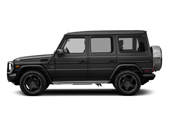 Magnetite Black Metallic 2016 Mercedes-Benz G-Class Pictures G-Class 4 Door Utility 4Matic photos side view