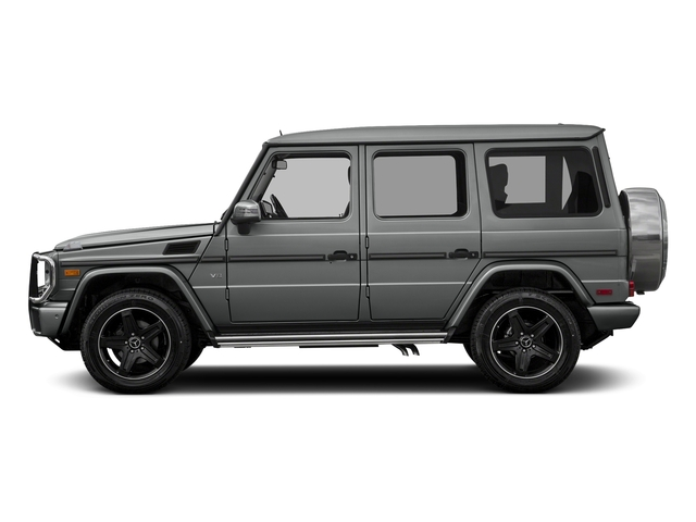 Palladium Silver Metallic 2016 Mercedes-Benz G-Class Pictures G-Class 4 Door Utility 4Matic photos side view