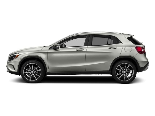 Polar Silver Metallic 2016 Mercedes-Benz GLA Pictures GLA Utility 4D GLA250 AWD I4 Turbo photos side view