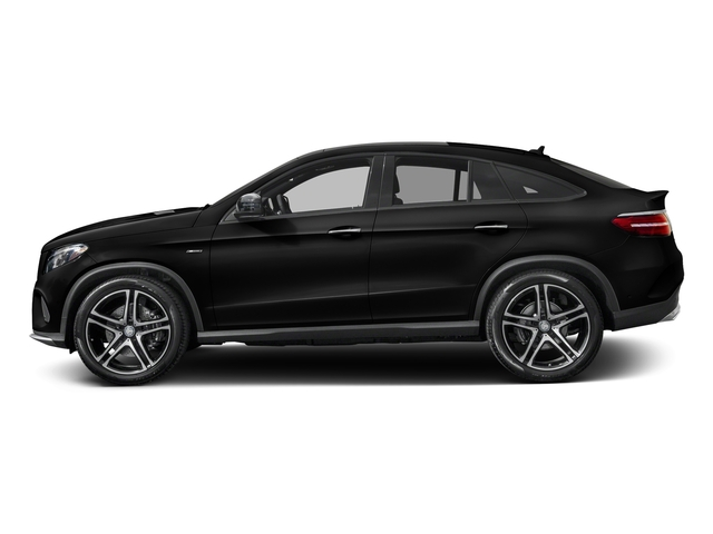 Obsidian Black Metallic 2016 Mercedes-Benz GLE Pictures GLE Utility 4D GLE450 Sport Coupe AWD V6 photos side view
