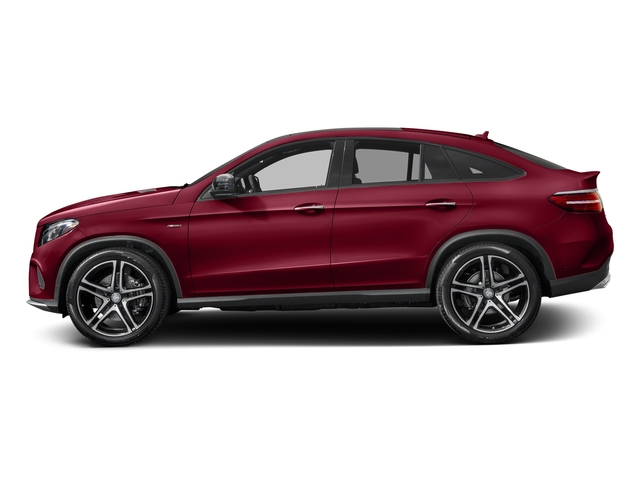 designo Cardinal Red Metallic 2016 Mercedes-Benz GLE Pictures GLE Utility 4D GLE450 Sport Coupe AWD V6 photos side view