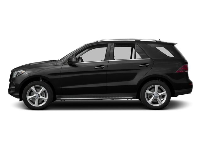 Obsidian Black Metallic 2016 Mercedes-Benz GLE Pictures GLE Utility 4D GLE300 AWD I4 Diesel photos side view