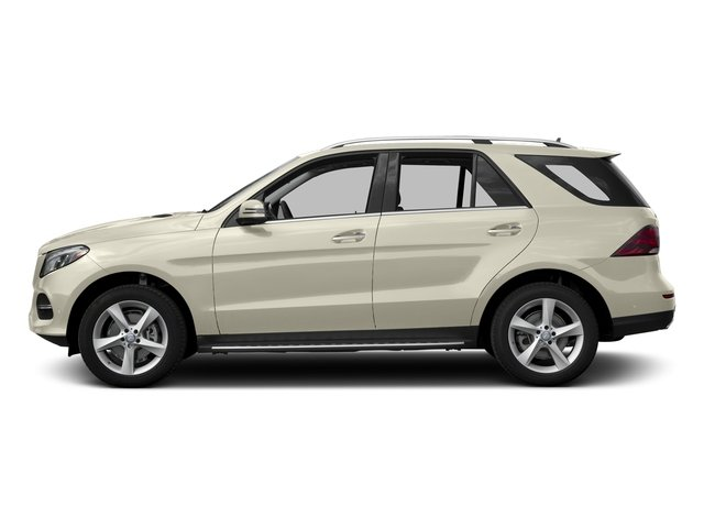 designo Diamond White Metallic 2016 Mercedes-Benz GLE Pictures GLE Utility 4D GLE300 AWD I4 Diesel photos side view