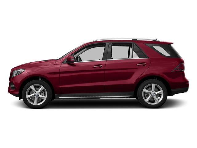 designo Cardinal Red Metallic 2016 Mercedes-Benz GLE Pictures GLE Utility 4D GLE300 AWD I4 Diesel photos side view