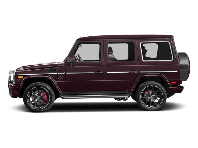 designo Mystic Red 2016 Mercedes-Benz G-Class Pictures G-Class 4 Door Utility 4Matic photos side view