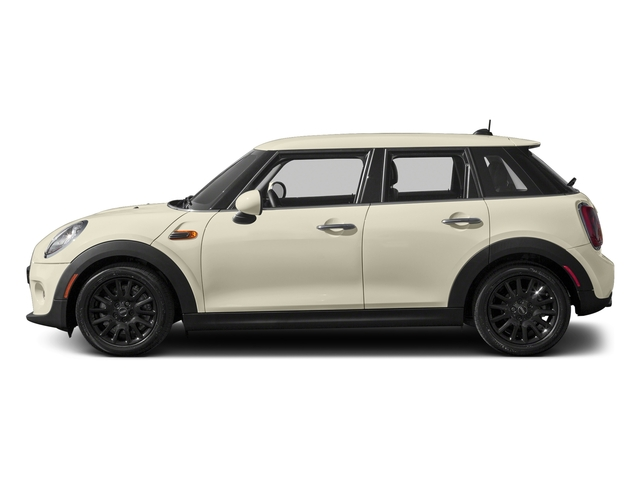 Pepper White 2016 MINI Cooper Hardtop 4 Door Pictures Cooper Hardtop 4 Door Wagon 4D I3 Turbo photos side view