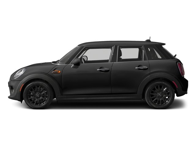 Midnight Black Metallic 2016 MINI Cooper Hardtop 4 Door Pictures Cooper Hardtop 4 Door Wagon 4D I3 Turbo photos side view