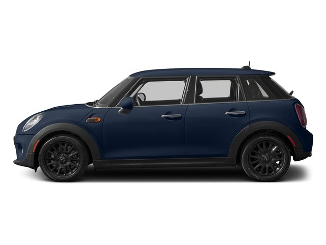Deep Blue Metallic 2016 MINI Cooper Hardtop 4 Door Pictures Cooper Hardtop 4 Door Wagon 4D I3 Turbo photos side view