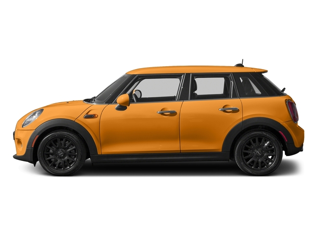 Volcanic Orange 2016 MINI Cooper Hardtop 4 Door Pictures Cooper Hardtop 4 Door Wagon 4D I3 Turbo photos side view