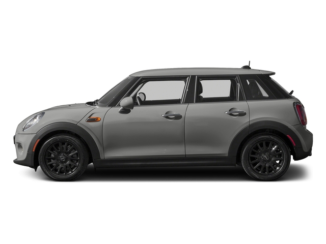 Moonwalk Grey Metallic 2016 MINI Cooper Hardtop 4 Door Pictures Cooper Hardtop 4 Door Wagon 4D I3 Turbo photos side view
