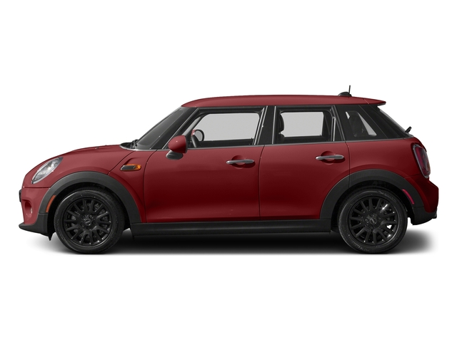 Blazing Red Metallic 2016 MINI Cooper Hardtop 4 Door Pictures Cooper Hardtop 4 Door Wagon 4D I3 Turbo photos side view