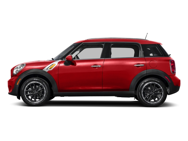 Chili Red 2016 MINI Cooper Countryman Pictures Cooper Countryman Wgn 4D Countryman JCW AWD I4 Turbo photos side view