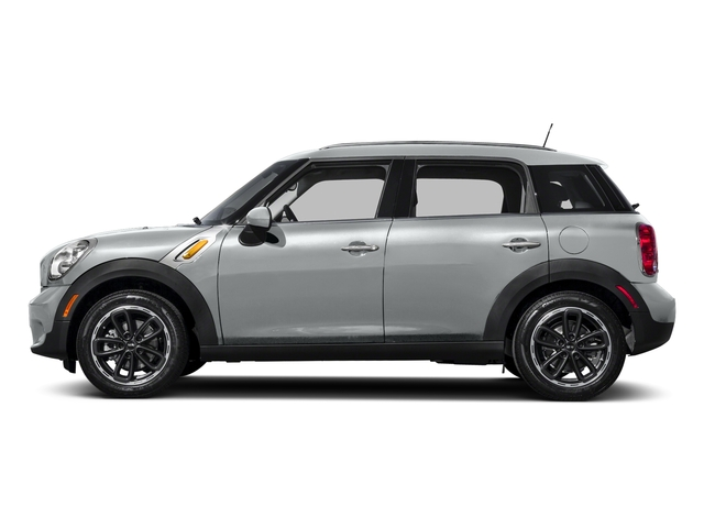 Light White 2016 MINI Cooper Countryman Pictures Cooper Countryman Wgn 4D Countryman JCW AWD I4 Turbo photos side view