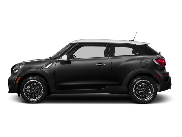 Absolute Black Metallic 2016 MINI Cooper Paceman Pictures Cooper Paceman Coupe 2D Paceman JCW AWD I4 Turbo photos side view
