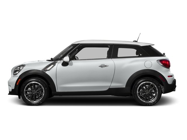 Light White 2016 MINI Cooper Paceman Pictures Cooper Paceman Coupe 2D Paceman JCW AWD I4 Turbo photos side view