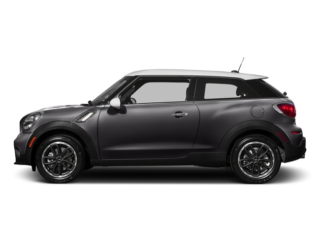 Midnight Grey Metallic 2016 MINI Cooper Paceman Pictures Cooper Paceman Coupe 2D Paceman JCW AWD I4 Turbo photos side view
