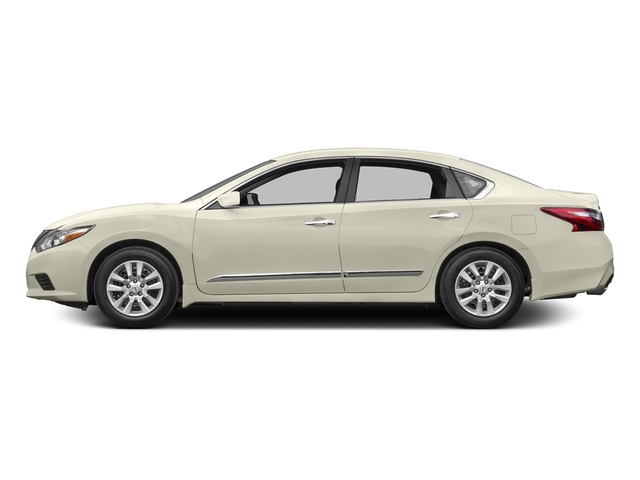 Pearl White 2016 Nissan Altima Pictures Altima Sedan 4D SV I4 photos side view
