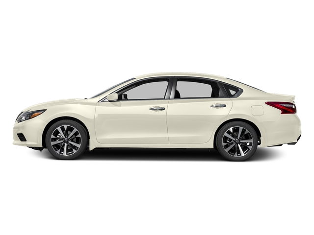 Pearl White 2016 Nissan Altima Pictures Altima Sedan 4D SR V6 photos side view