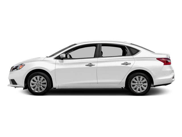 Aspen White Pearl 2016 Nissan Sentra Pictures Sentra Sedan 4D SV I4 photos side view